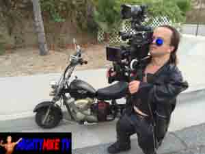 Dwarf director Mighty Mike Is little person filming producer, filming scenes, organizing shots with midgets and regular stature actors, actresses. Setting up cinematic shots and Pulling focus with Sony 4k Pxw-Fs5. Independent film making short movies n music videos.